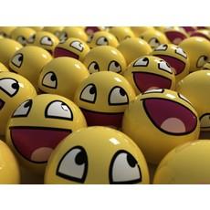 Smiley face wallpaper 016