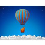 Flying elephant by vladstudio