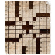 Grandmas worn crossword shabbymissjenndesigns