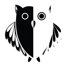 Depositphotos 1245752 vector stylized owl background illustra