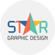 Star graphic design logo