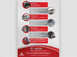 Proje#28609 - Üretim / Endüstriyel Ürünler Afiş - Poster Tasarımı  #36