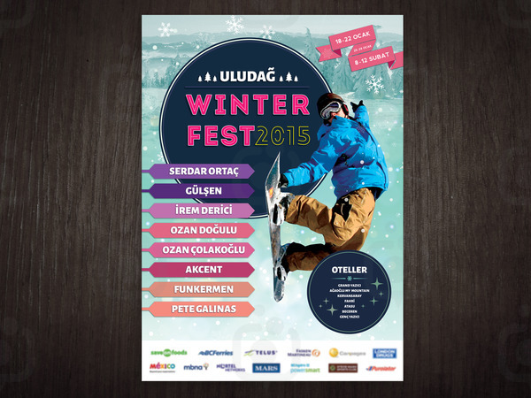 Winterfest poster
