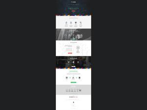 Proje#29130 - Bilişim / Yazılım / Teknoloji Web sitesi tasarımı (psd)  #14