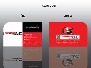 Proje#29189 - Basın / Yayın, e-ticaret / Dijital Platform / Blog Seçim garantili logo ve kartvizit tasarımı  #17