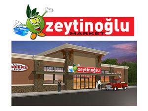 Zeytino lu market maskot logo