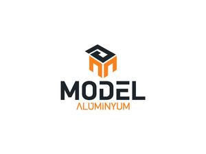Model aluminyum logo