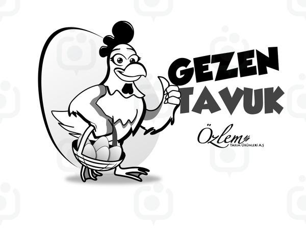 Gezen tavuk logo4