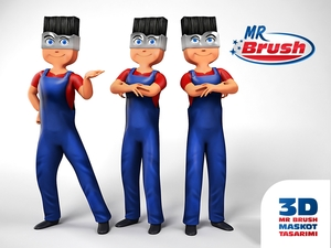 Mr brush maskot5