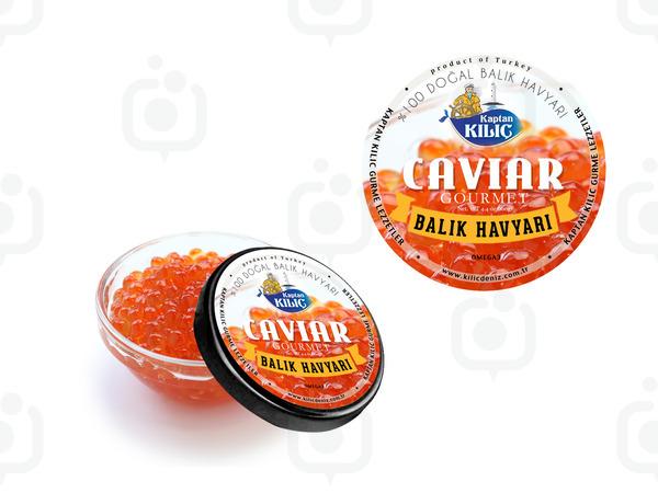 Caviar8 logo