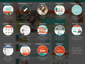 Proje#30137 - e-ticaret / Dijital Platform / Blog Web sitesi tasarımı (psd)  #80