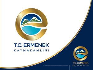 Ermenek kaymakamlığımıza logo projesini kazanan tasarım