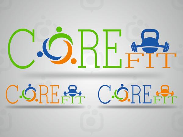 Core fit logo