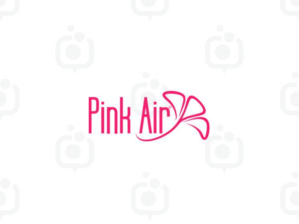 Pink air logo