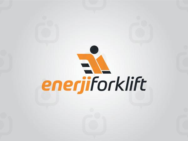 Enerji forklift logo
