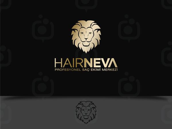 Hair neva alt n logo