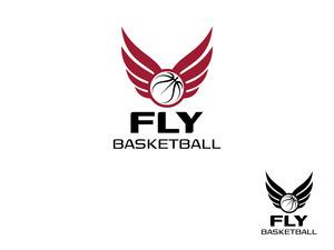 Fly basketball logo