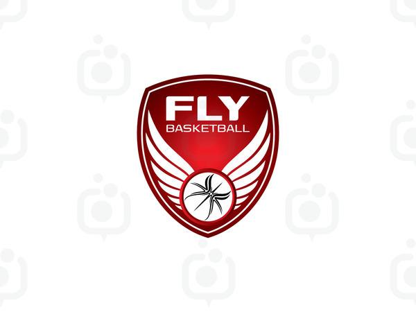 Fly basketball logo 1