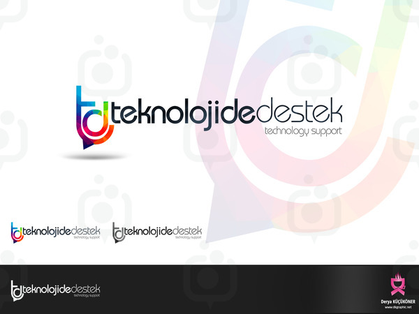Teknolojide destek logo sun