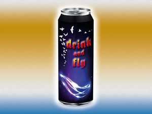 Drink and fly