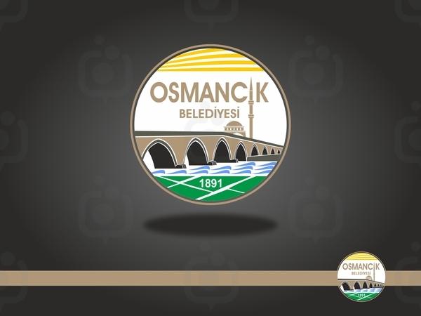 Osmanc k belediyesi logo