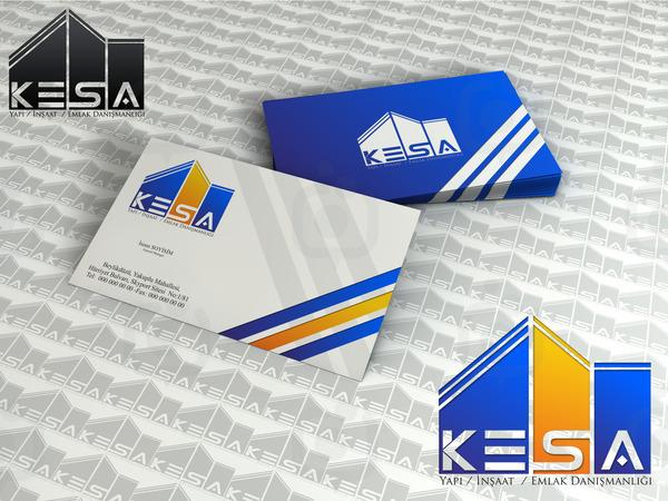Kesa yap  logo ve kartvizit  rnek