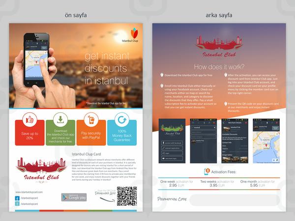 Ist clup app flyer