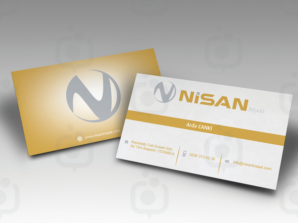 Nisan insaat kartvizit