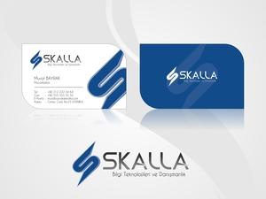 Skalla kartvizit logo
