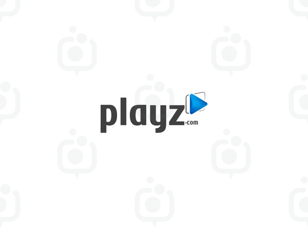 Playz video logo