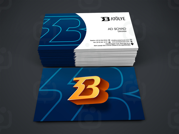 3d kartvizit