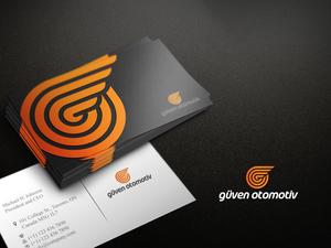 Güven Otomotiv şirketimize loga ve kartvizit projesini kazanan tasarım