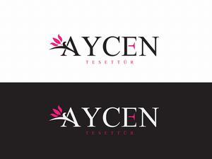 AyCen tesettür markamıza logo projesini kazanan tasarım