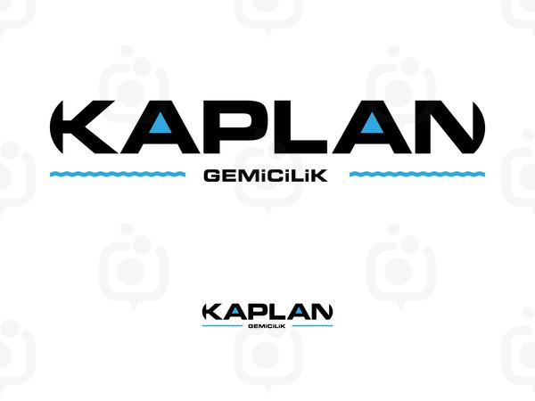 Kaplan gemicilik logo tasarimi 01