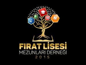Fırat Lisesi Mezun Derneği Logosu projesini kazanan tasarım