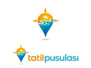 tatilpusulasi.com için logo tasarımı projesini kazanan tasarım