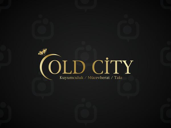 Old city logo tasar m