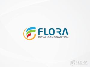 Flora boya dekorasyon 1