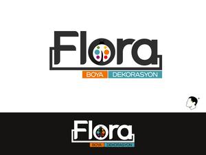 Flora boya dekorasyon 2