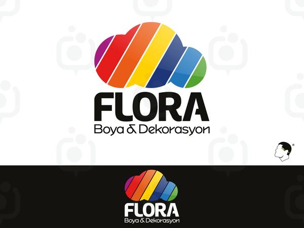 Flora boya dekorasyon 3