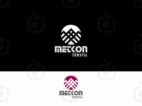Metkon tekstil logo 1