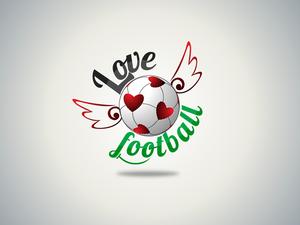 Lovefottball logo