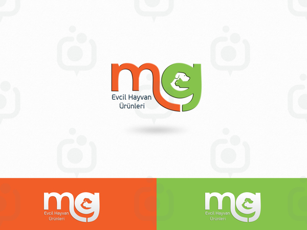Mg evcil hayvan  r nleri logo sunum