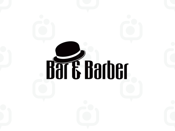 Bar barber logo