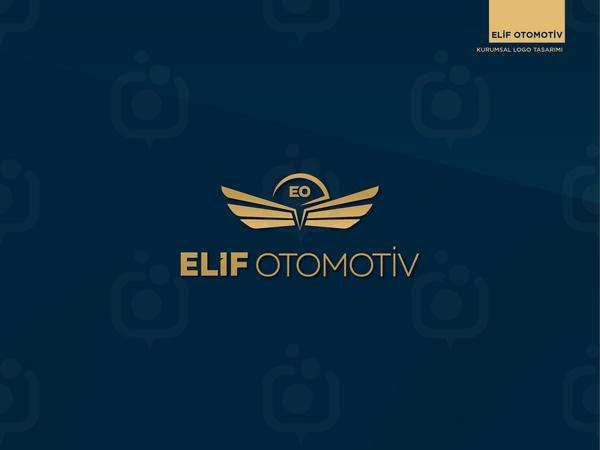 Elif otomotiv logotype 01
