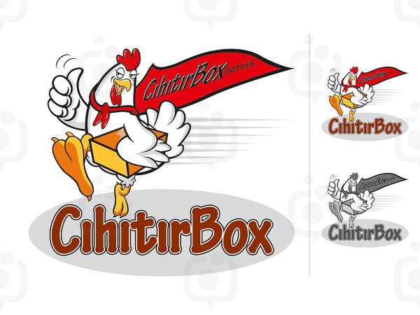 Ch t rbox maskot logo