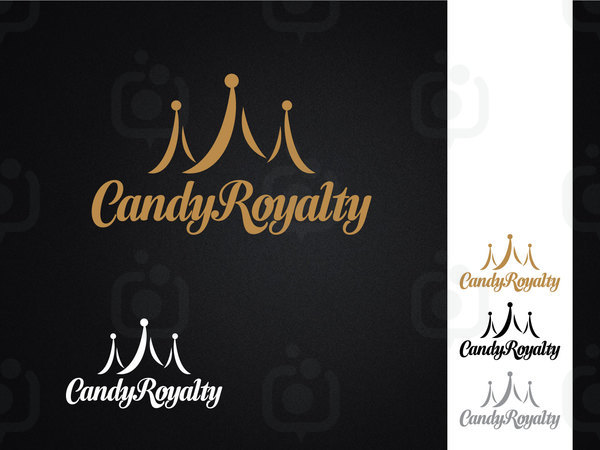 Candy royalty logo