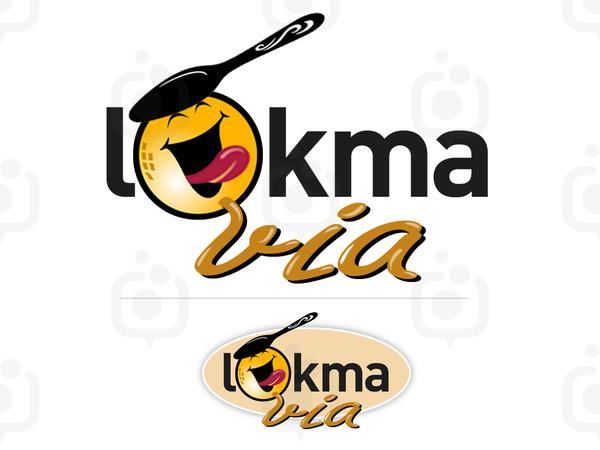 Lokmavia maskot logo