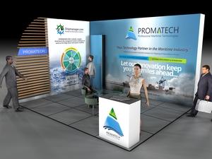 Proje#34349 - Bilişim / Yazılım / Teknoloji Stand kaplama  #2