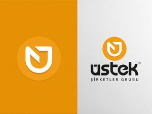 Üstek Group Logo Çalışması projesini kazanan tasarım